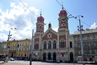Die jüdische Synagoge in Pilsen