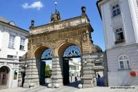 Das Tor zur Pilsner Urquell Brauerei