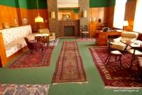 Das Wohnzimmer der Familie Vogl in Pilsen