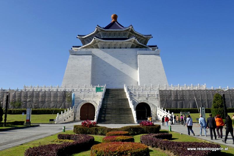 Chian Kai Shek Memorial in Taipeh