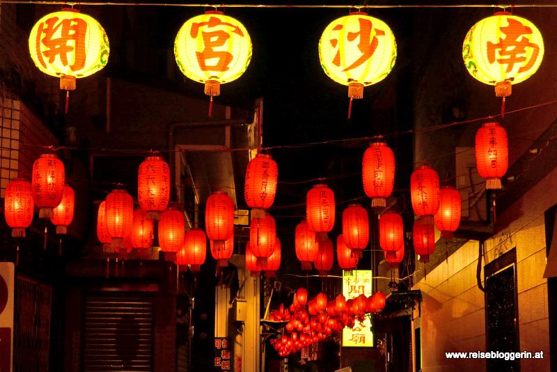 Lampions in Tainan