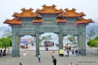 Der Tempel Xuangzang am Sun Moon Lake