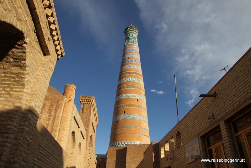 Die Altstadt von Chiwa in Usbekistan
