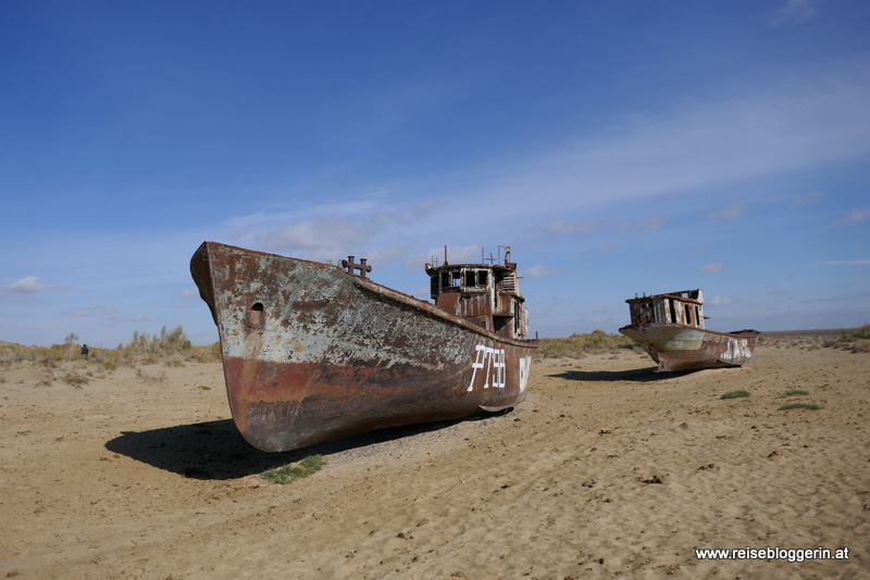 Der Friedhof der Schiffe am Aralsee