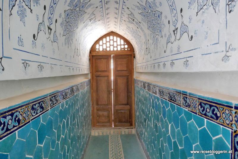 in einer Moschee in Usbekistan