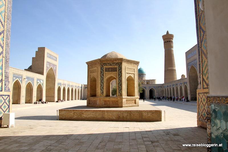Die Kalon Moschee in Buchara
