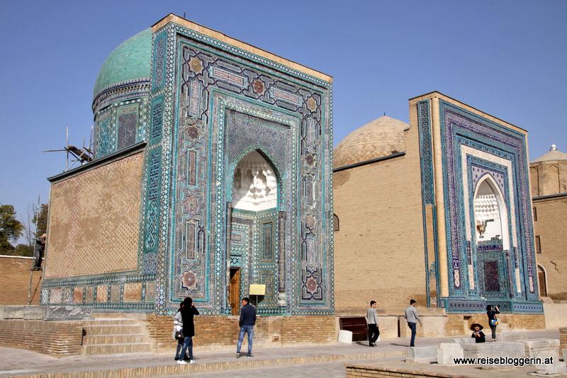 Die Nekropole in Samarkand
