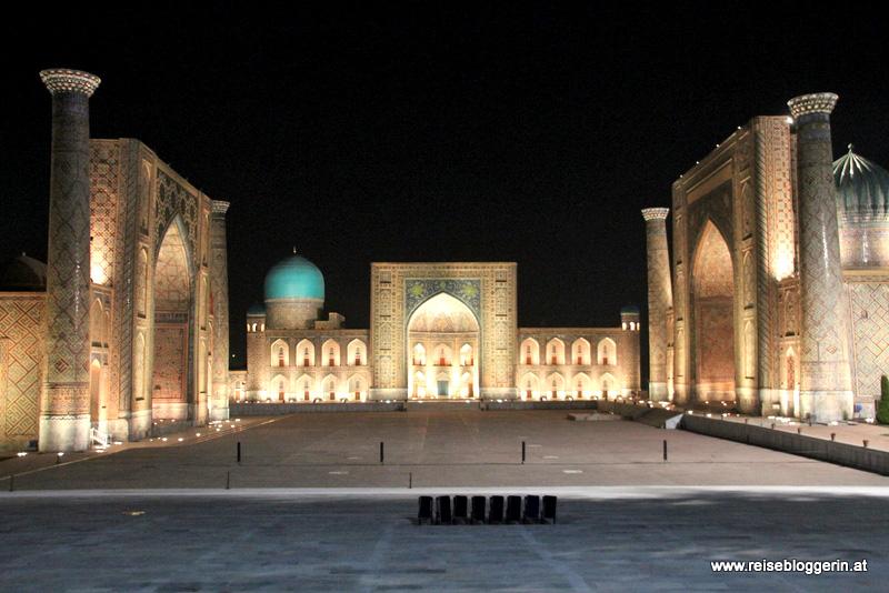 Der Registanplatz in Samarkand