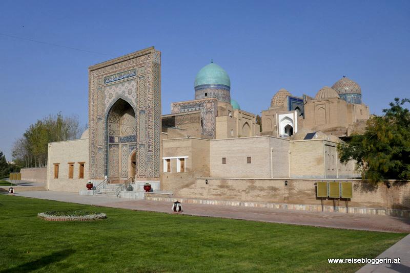 Shohizinda Nekropole in Samarkand