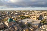 Chiwa in Usbekistan von oben