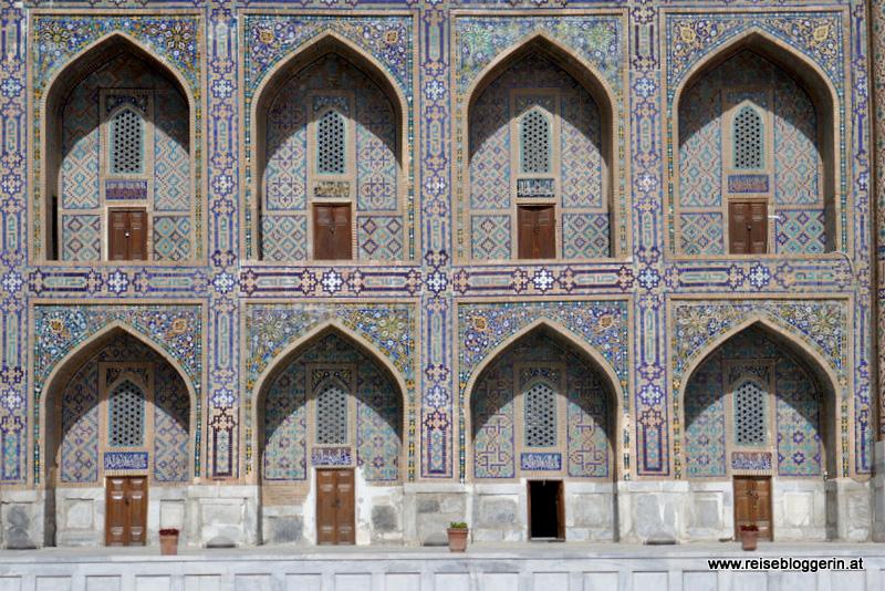 Tillya Kari Medrese in Samarkand