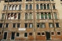 Hausfront in Venedig