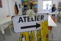 Atelier im Kunstmuseum Waldviertel in Schrems