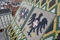 Das Dach vom Stephansdom