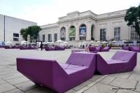 Im Museumsquartier in Wien