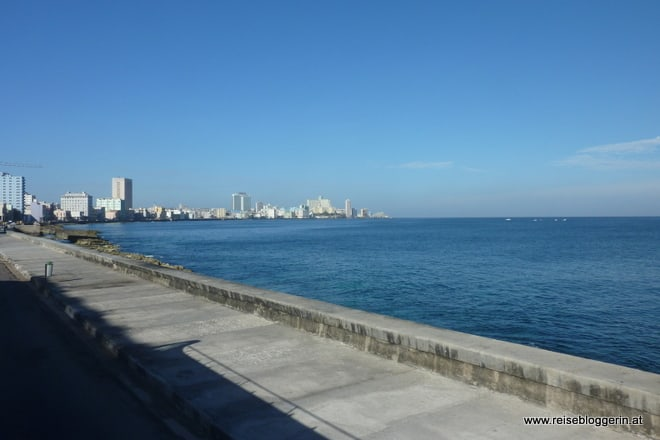Die Hafenpromenade (Malecon) in Havanna