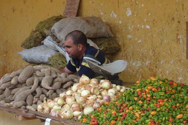 Markt in Kuba