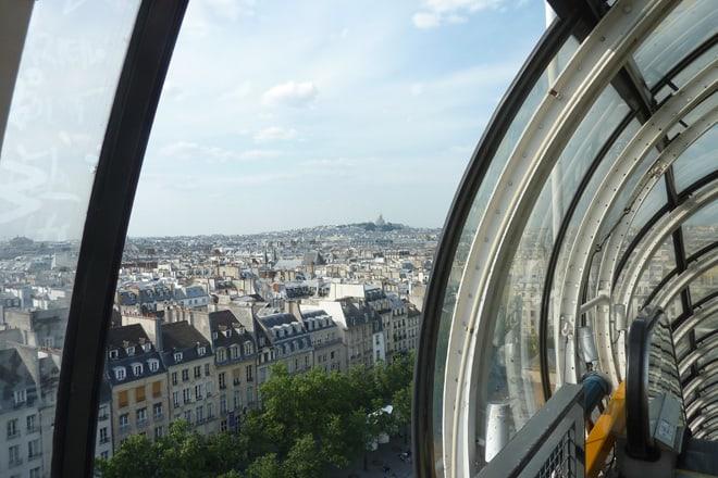 Blick vom Centre Pompidou