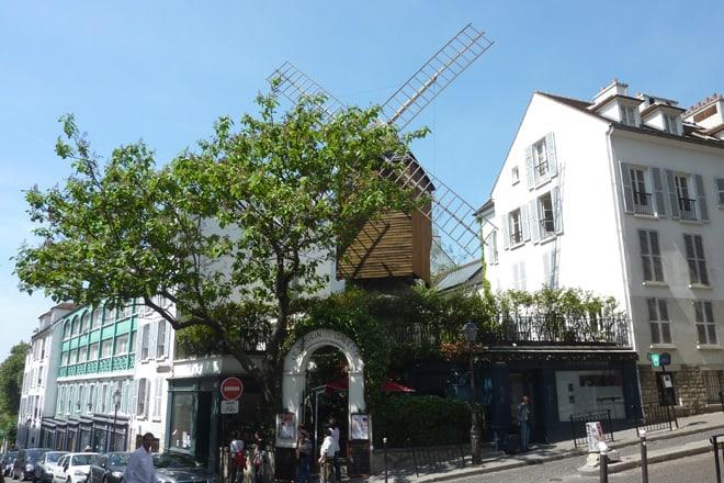 Windmühlen auf Montmartre