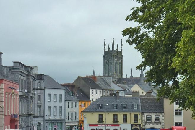 Kilkenny, eine Kleinstadt in Irland