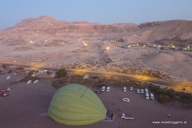 Ballonfahrt in Ägypten