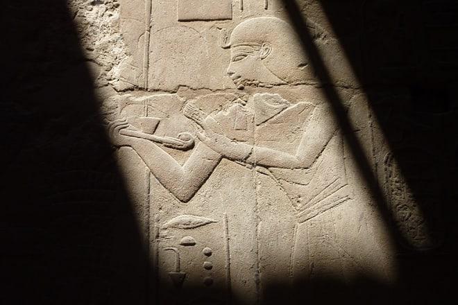 Detail im Luxortempel