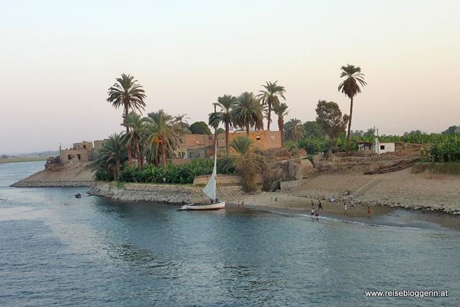 Der Nil in Ägypten