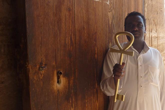 Der Schlüsselwächter von Abu Simbel
