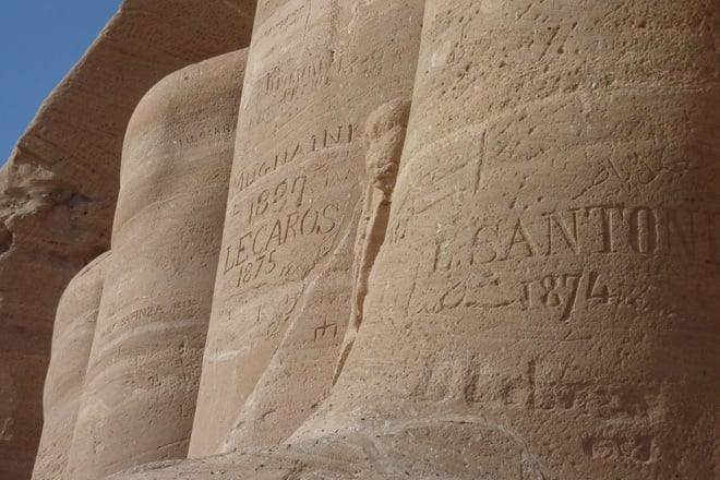 Der Tempel Abu Simbel