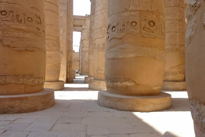 Karnak - Tempel von Luxor - Souk in Luxor