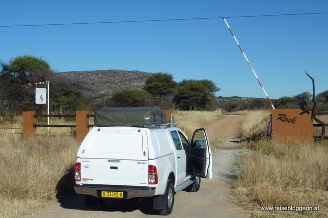 Auf dem Weg zum Etosha Nationalpark