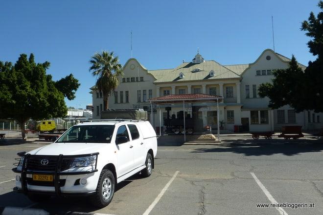 Der Bahnhof in Windhoek