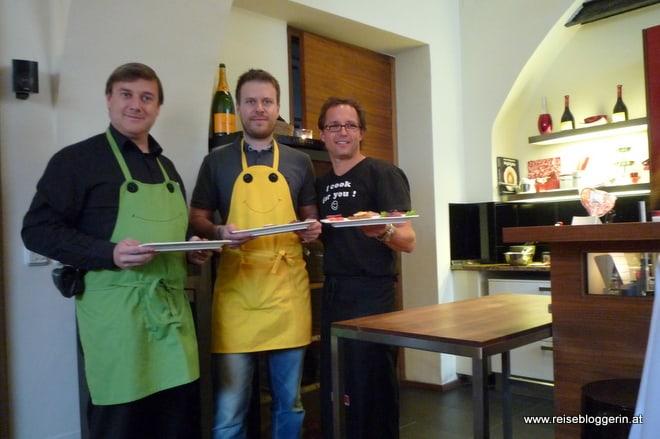 Kochkursteilnehmer im Kitchen12