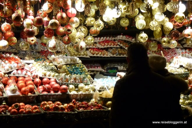 Weihnachtsschmuck am Salzburger Christkindlmarkt
