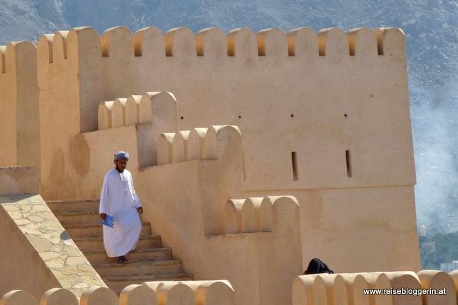 Die Festung Nakhl im Oman