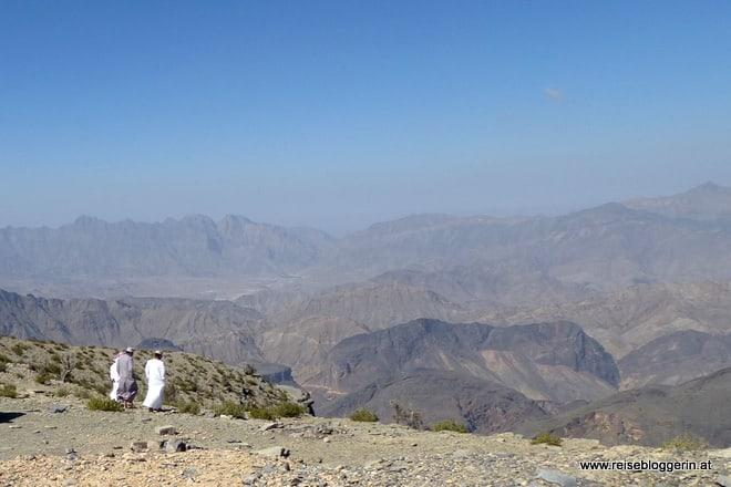 Gebirgspass im Oman