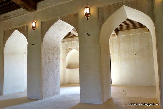 Ein Innenraum in Jabrin