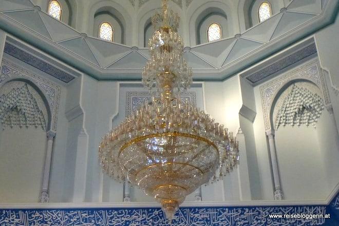 Der Luster in der Moschee in Bahla
