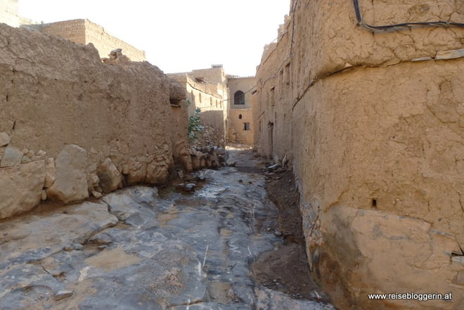Die alte Stadt Al Hamra im Oman