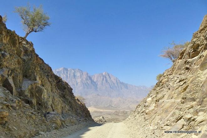 Das Wadi Sahtan im Oman