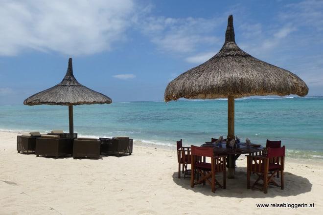 Das Hotel Dinarobin auf Mauritius