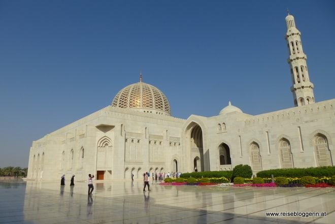 Die Sultan Qaboos Moschee in Muskat