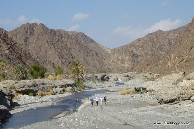 Das Wadi Abyadh im Oman