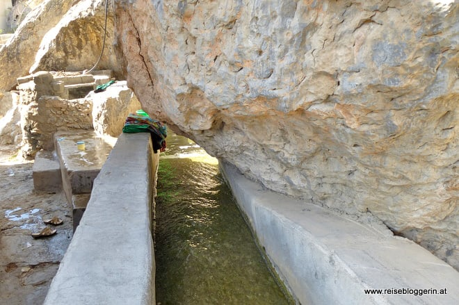 Wasserkanäle im Oman
