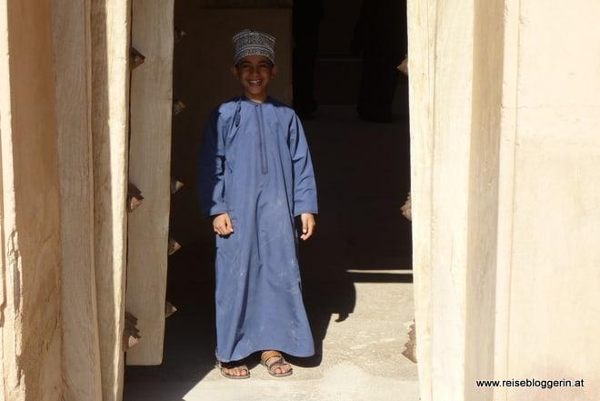 Kind im Oman