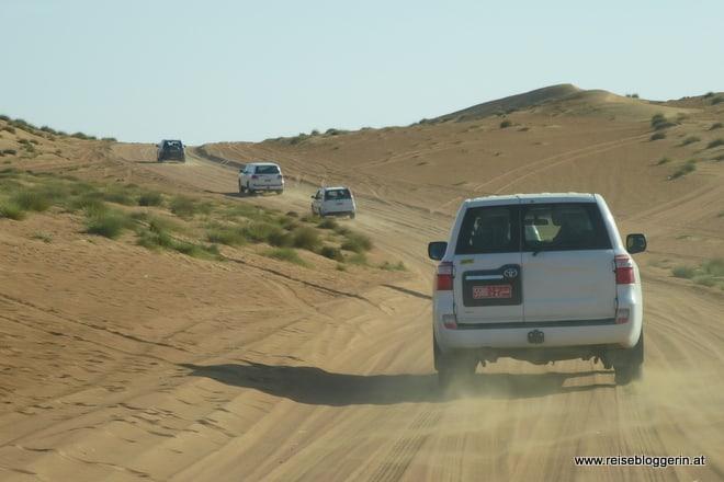 Mit dem Jeep in die Wüste
