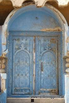 Tür im Oman