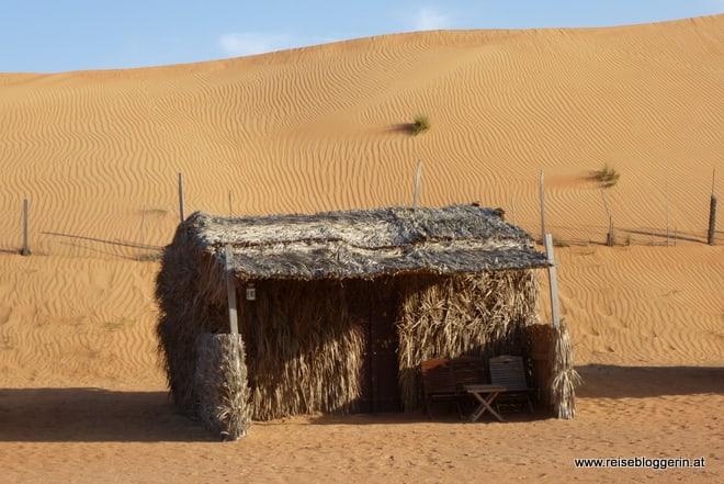 Wüstencamp im Oman