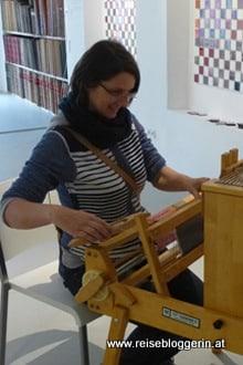 Gudrun Krinzinger Reiseblog Weben in Haslach