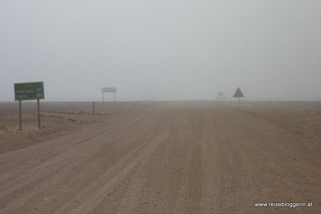 Namibia im Nebel